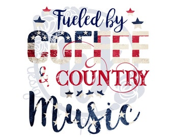 Southern Sublimation Transfer | Coffee and Country Music