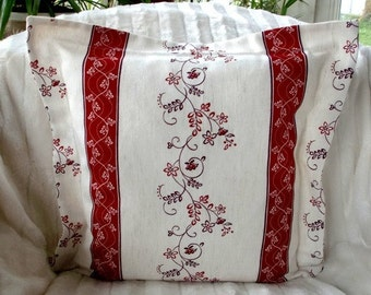 Country House Pillow cover border