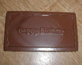 Happy Birthday Card Chocolate Mold