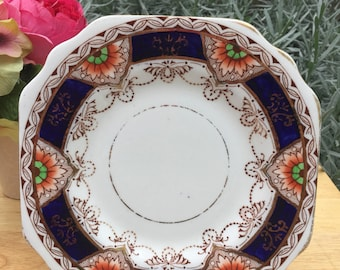 Vintage side plate Fanfare period 1800 Osborne bone china