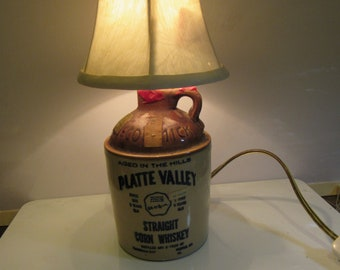 man cave whiskey lamp