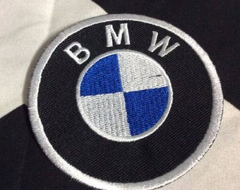 Crystal Bling Bmw Emblem Badge Custom Bedazzled By Hand With