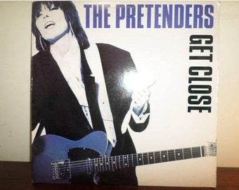 Vintage 1986 Vinyl LP Record The Pretenders Get Close Near Mint Condition 11696