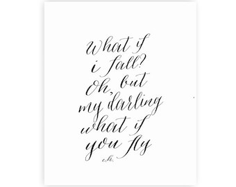 what if i fall in love with you