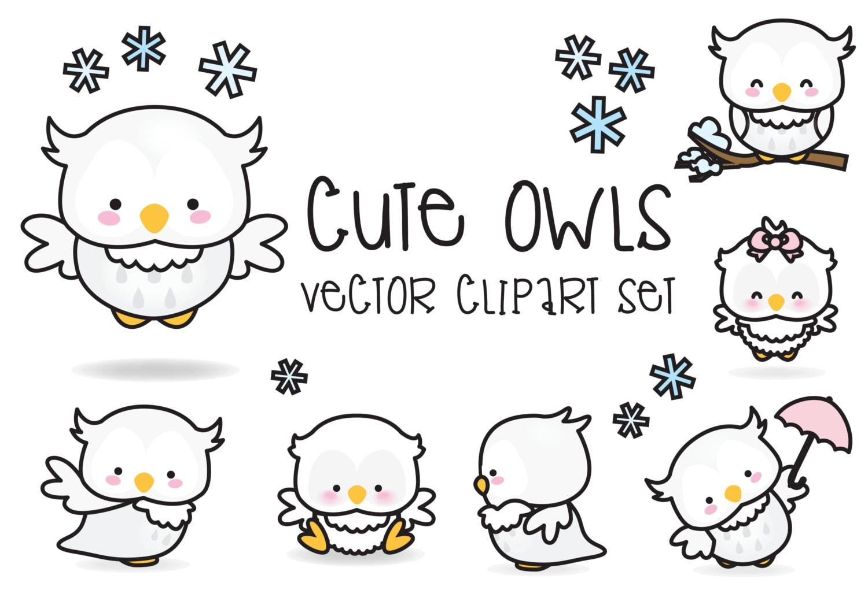 how to draw a kawaii owl