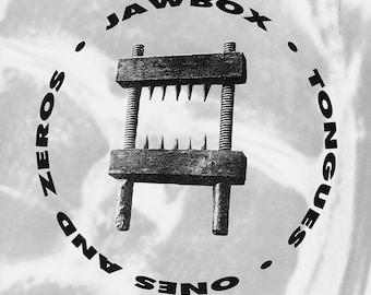 "Jawbox - Tongues / Ones & Zeroes 7"" Vinyl Record 1992"