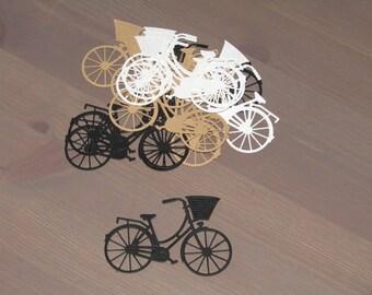 Vintage Bicycle Die cuts x 12