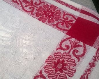 OLD cloth 100% cotton damask