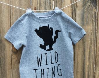 Wild Things Toddler Shirt
