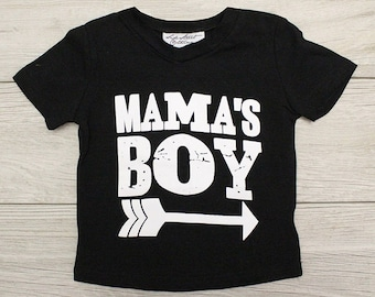 Mama's Boy Tee shirt - Bbaby, Toddler, Kids T shirt, Gift Shirt, boys top, arrow print