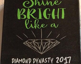 Danielle's Diamond Dynasty Canvas Art