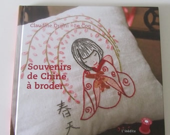 """Book """"Memories of Chinese embroidery"""" - 13 embroidery patterns"""