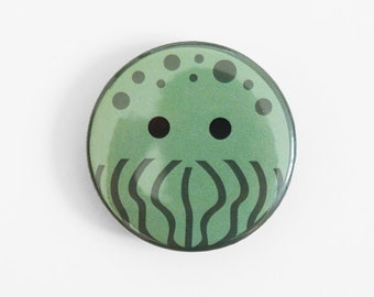 Cthulhu Button Badge