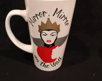 Evil Queen inspired  Coffee Mugs