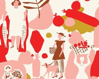 Jiggity Jig - To Market To Market - Emily Isabella - Cloud9 Fabrics - Organic Cotton Fabric By the Half Yard