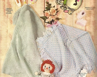 A Bounty of Baby Bundle-ups Crochet/Knitting Pattern Book