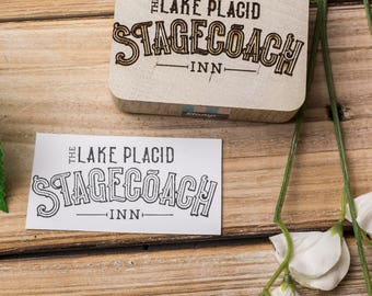 custom wood stamp, logo stamp, English Oak Mounted, custom stamp, oak stamp, rubber stamp, personalised stamp, eco stamp