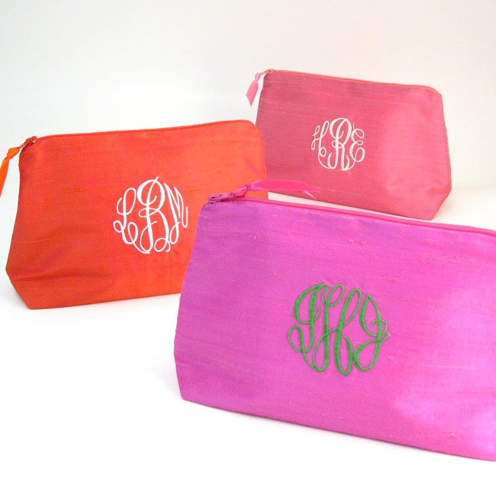 SALE Piper Cosmetic Bag Personalized Monogrammed Toiletry
