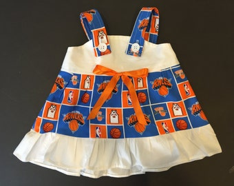 NBA  New York Knicks Baby Infant Toddler Girls Dress  You Pick Size