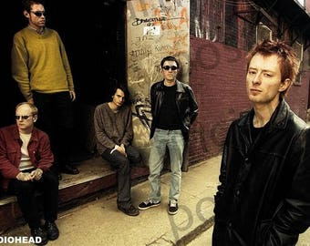 Radiohead Band Poster