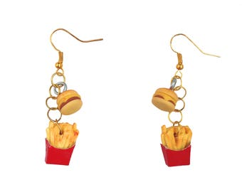 FaSt FoOd NaTiOn You Want Fries with That? Earrings