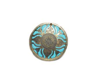 Bohemian pendant