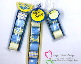 3 Sets of Nugget Sleeves with Wrappers and Tags