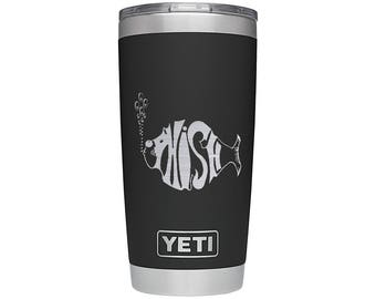 YETI Rambler Phish - Black 20 oz