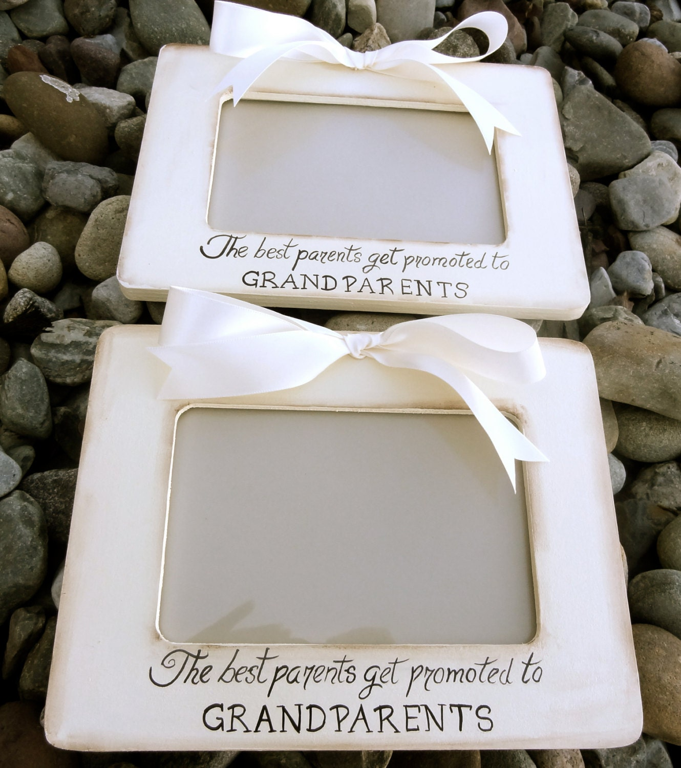 Set of 2 ultrasound grandparent picture frames sonogram new zoom jeuxipadfo Image collections