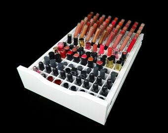 Lipstick Drawer Organizer (Fits IKEA® Alex Drawer Units) - Makeup Organizer - Makeup Drawer Insert - Lipstick Storage