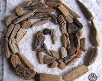 62 minuscule au milieu Driftwood mer bois mosaïque d'Art et de bricolage (1820)