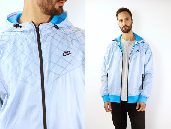 Nike Track Jacket Nike Windbreaker Nike Track Jacket Windbreaker Nike Jacket Nike Shell Jacket Nike Nylon Jacket Blue Retro Windbreaker Blue