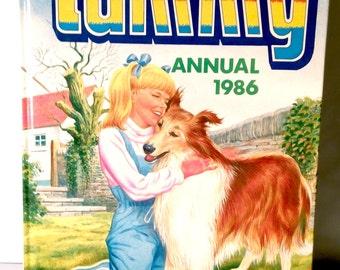 1986 TAMMY Annual. Collectible Memorabilia. Nostalgia Comic Book Hard Back. Vintage Retro British