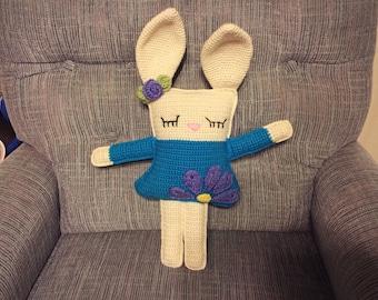 Spring rag doll bunny
