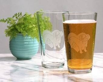 Dachshund Dog Pint Glass