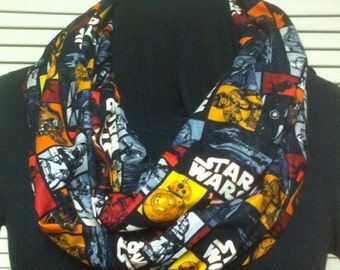 Star Wars The Force Awakens Cotton Infinity Scarf
