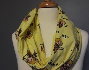 Sera and Bees Infinity Scarf