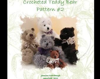 Crocheted Teddy Bear Pattern
