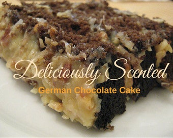 1/2 or 1 oz GERMAN CHOCOLATE CAKE Premium Fragrance Oil, candles, soap, perfume oil, cosmetics, soap making, scented oil, home fragrance