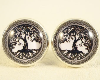 "Earrings ""Tree of life"""