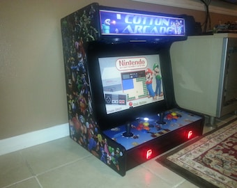 Bartop Arcade Cabinet Plans & Templates (DOWNLOADABLE, PRICE REDUCED)