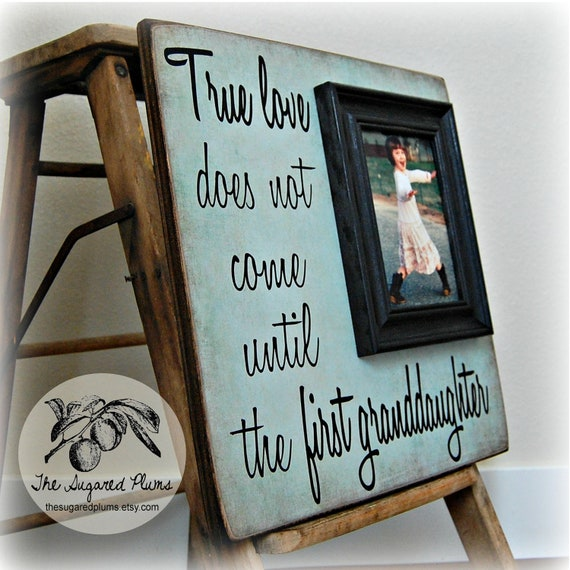 Mothers Day Gift, Personalized Picture Frame, True Love Does Not ...