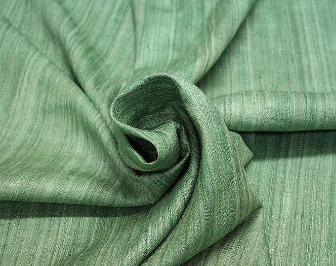 453081-natural Silk Rustic 100%, wide 135/140 cm, made in India, dry-washed, weight 240 gr