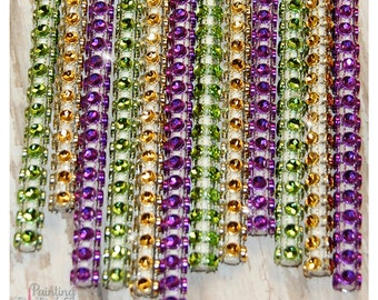 Mardi Gras Shimmer Sticks - NEW TREND ALERT - Glam for Lollipops, Cake Pops and All Things Party