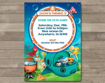 Octonauts Banner Octonauts Party Octonauts Printable