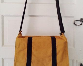 Standard Issue Messenger Bag- Honey