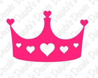 Princess Crown SVG for Download