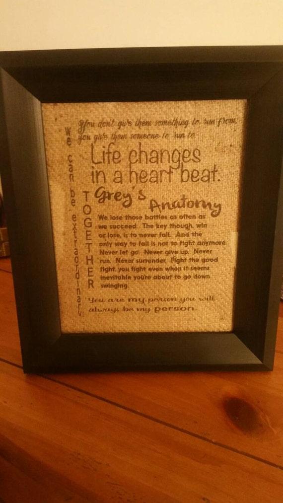 Greys Anatomy/Greys Anatomy Zitat/Greys Anatomy