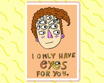 I only have eyes for you - Gift Card