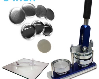 3 Inch Button Maker Machine - Professional Starter Kit